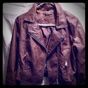 Brand new Joujou leather jacket Sz.L